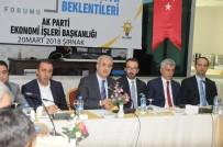 Şırnak'ta 'Şehirlerin Ekonomik Beklentileri' Çalıştayı