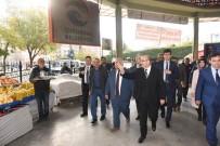 OSMAN SARı - Vali Demirtaş Pazarcı Esnafı İle Bir Araya Geldi