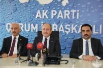 YARDIM KONVOYU - AK Parti'den İstişare Toplantısı