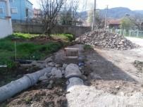 ŞEREFIYE - Akyazı'da Alt Yapı Çalışmaları Hızla Devam Ediyor
