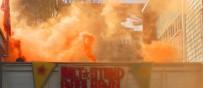 SOSYAL DEMOKRAT PARTİ - Almanya'da PYD/PKK Yandaşları Sosyal Demokrat Parti Merkezine Saldırı