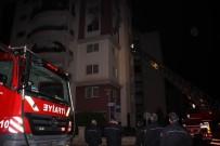 İTFAİYE MERDİVENİ - Aydın'da Yangın Paniği