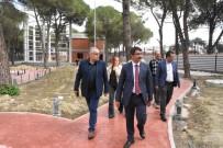 GENÇLIK PARKı - Başkan Çelik Projeleri İnceledi