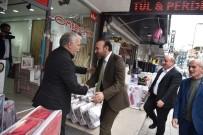 BEKIRPAŞA - Başkan Doğan, Bekirpaşa Esnafını Ziyaret Etti