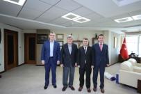 İBRAHIM KARAOSMANOĞLU - Başkan Karaosmanoğlu Özel Bir Okulun Yönetimini Ağırladı