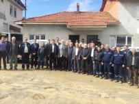İL GENEL MECLİSİ - Başkan Musa Yılmaz, Hisarcık'taki Yol Çalışmalarını İnceledi