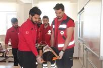 YANGIN TATBİKATI - Elazığ'da Deprem Ve Yangın Tatbikatı
