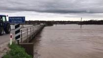 Ergene Nehri'nin Debisi Yükseliyor