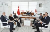 AHMET TOPRAK - FHGC'den Elazığ TSO Başkanı Alan'a Ziyaret