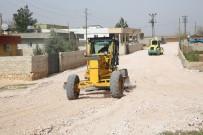 YOL YAPIMI - Haliliye'de Yol Yapım Çalışmaları Devam Ediyor