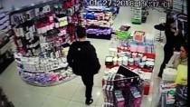 HIRSIZLIK BÜRO AMİRLİĞİ - İş Yerlerinden Hırsızlık Güvenlik Kamerasında