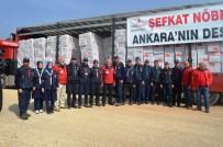 MÜLTECI - Kağıtsporlu İzci Liderlerinden Afrin'e Yardım Eli