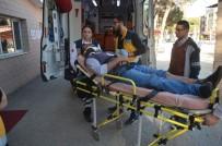 KAZIM KARABEKİR - Manisa'da Trafik Kazası Açıklaması 1 Yaralı