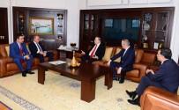 GALATASARAY BAŞKANı - Mustafa Cengiz'den Kadıköy Belediye Başkanı Aykurt Nuhoğlu'na Ziyaret