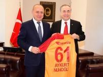 GALATASARAY BAŞKANı - Mustafa Cengiz'den Kadıköy Belediye Başkanı'na Ziyaret