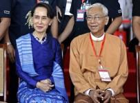 AUNG SAN SUU Çİİ - Myanmar Devlet Başkanı Htin Kyaw İstifa Etti
