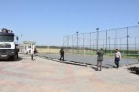 İMAM HATİP LİSESİ - Nusaybin'de Okullarda Spor Alanı Ve Boyama Çalışmaları Başladı
