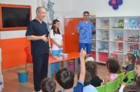 DİŞ FIRÇALAMA - 'Sağlıklı Dişler, Sağlıklı Toplum' Sloganıyla Miniklere, Ağız Ve Diş Taraması Yapıldı