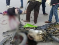 TRAFIK KAZASı - Mersin'de feci ölüm!