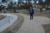 YÜRÜYÜŞ YOLU - Söke'nin Yenikent Mahallesi'ne 'Zeytin Dalı' Parkı
