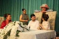 HÜSEYIN DEMIR - Tiyatrocuların Nikahından Renkli Görüntüler