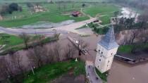 KıRKPıNAR - Tunca Nehri'nin Debisi Yine Yükselmeye Başladı