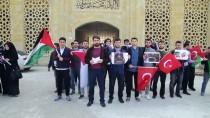 AKDENIZ ÜNIVERSITESI - Üniversite Öğrencilerinden Filistinli Ahed'e Destek