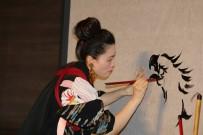 İLHAMI AKTAŞ - Ünlü Japon Sanatçı Sisyu NEVÜ'de Canlı Performans Sergiledi