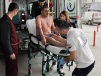 İSTANBUL KARTAL - Üzerine Kimyasal Madde Dökülen İşçi Yaralandı