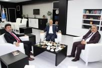 Yazar Mengüşoğlu'ndan Rektör Karacoşkun'a Ziyaret