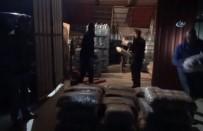 POLİS KAMERASI - 1 Tonluk Uyuşturucu Operasyonu Polis Kamerasına Yansıdı