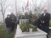 ÇIĞ DÜŞMESİ - Alaçamlı Şehit Kadir Kara Kabri Başında Anıldı