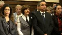 ANMA TÖRENİ - Atina'daki Şehit Diplomatlar İçin Tören