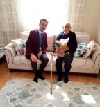 ALI ASKER - Başhekim İlhan'dan Yaşlılara Ziyaret