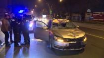 YıLDıRıM BEYAZıT - Başkentte Otomobil Yayaya Çarptı Açıklaması 1 Ölü, 1 Yaralı