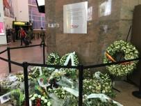 ANMA TÖRENİ - Belçika'daki Saldırıların Kurbanları Anıldı