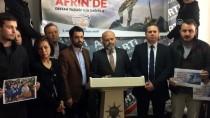 ÇANAKKALE DENİZ ZAFERİ - Çanakkale'de AK Parti'nin Pankartının İndirilmesine Tepki