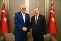 ARNAVUTLUK - Cumhurbaşkanı Erdoğan, Arnavutluk Başbakanı Rama'yı Kabul Etti
