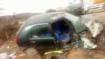 AKALAN - Denizli'de Trafik Kazası Açıklaması 1 Ölü, 7 Yaralı