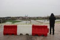 KıRKPıNAR - Edirne'de Tunca Nehri 'Kırmızı Alarm' Seviyesine Yükseldi