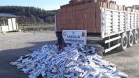 DİYARBAKIR - Elazığ'da 13 Bin 500 Paket Kaçak Sigara Ele Geçirildi