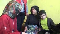 HÜSEYIN YıLMAZ - Engelli 3 Çocukla Yaşam Mücadelesi Veren Ailenin Hayatı İhbarla Değişti