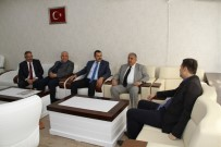 Eski Bakan Sümer'den Gülenç'e Ziyaret