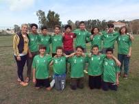 MİLLİ EĞİTİM MÜDÜRÜ - Foça'da Okulları Futbol Turnuvası Başladı