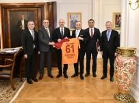 İÇİŞLERİ BAKANI - Galatasaray Yönetiminden Ankara'ya Ziyaret
