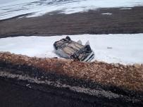 KıRKPıNAR - Kars'ta Trafik Kazası Açıklaması 1 Yaralı