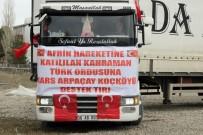 Kars'tan Afrin'e Canlı Hayvan Desteği