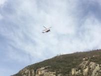 DENİZ POLİSİ - Kayıp Polisi Arama Çalışmaları Karadan Ve Havadan Sürüyor
