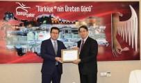VERGİ DAİRESİ - Konya Şeker'e Maliye Bakanlığından Ödül