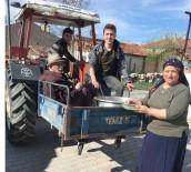 MUSTAFA ALTıN - Köylüler Baharın Gelişini Helva Hayrı Yaparak Karşılıyorlar